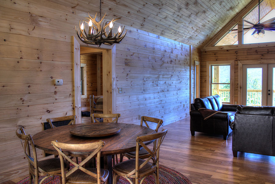 Log Cabin Construction Portfolio Charleston Overlook