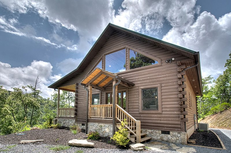 Smoky mountain cabin builder portfolio of log homes near for Smoky mountain ridge cabins