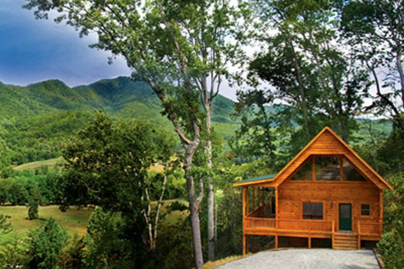 Smoky mountain cabin rentals near bryson city in western for Smoky mountain cottages